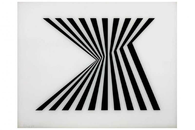 Top Bridget Riley - Sikkens Prize OO29